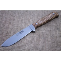 CUDEMAN Hunting Knife Olive Wood Handles 228-L