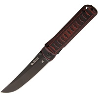 KIZLYAR SUPREME Whisper D2 Folding Knife Red G10