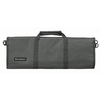 MESSERMEISTER Grey 12 Pocket Knife Roll, Case