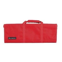 MESSERMEISTER Red 12 Pocket Knife Roll, Case