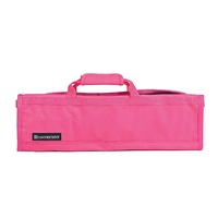 MESSERMEISTER Pink 8 Pocket Knife Roll, Case