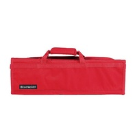 MESSERMEISTER Red 8 Pocket Knife Roll, Case