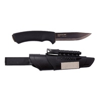 MORA Bushcraft Survival Ultimate Fixed Blade Knife Black - Authorised Aust. Retailer