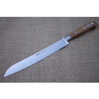 SABATIER LION OLIVEWOOD BREAD KNIFE 20 CM