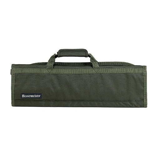 MESSERMEISTER Olive 8 Pocket Knife Roll, Case