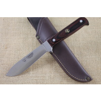 CUDEMAN Hunting Knife Stamina Wood Handles 228-R