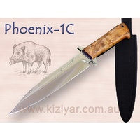 KIZLYAR PHOENIX 1C Fixed Blade Knife