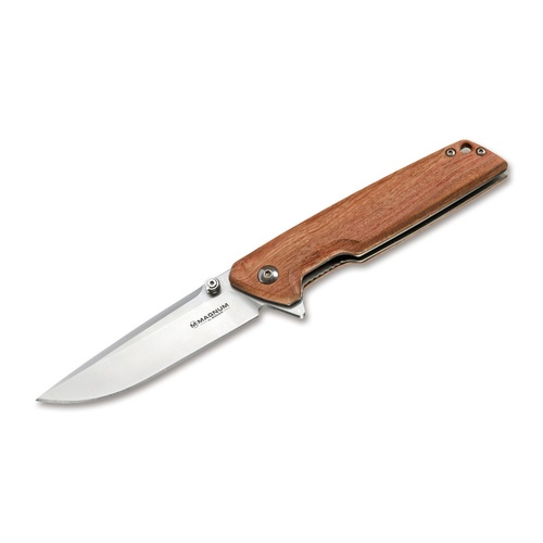 MAGNUM BY BOKER Straight Brother Wood Folding Knife