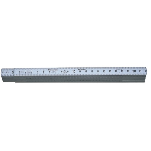 HULTAFORS A59-1-6 Aluminium Folding Ruler Metric - Authorised Aust. Retailer