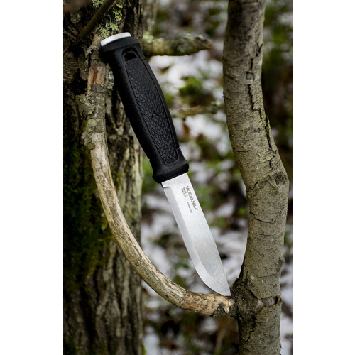 MORA Garberg Fixed Blade Knife With Leather Sheath - Authorised Aust. Retailer