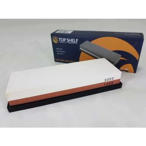TOP SHELF H1011 WATERSTONE COMBINATION SHARPENING STONE 1000/3000 GRIT